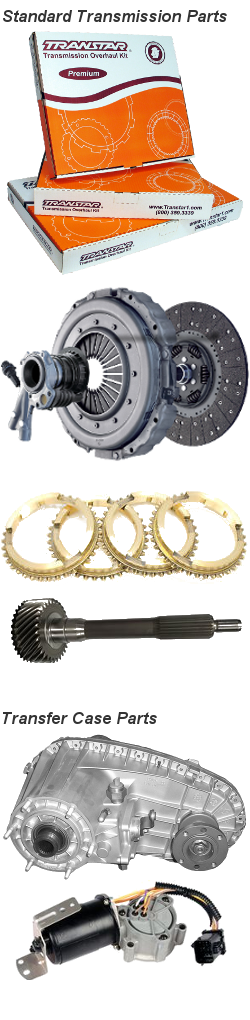 Standard Transmission and Transfer Case