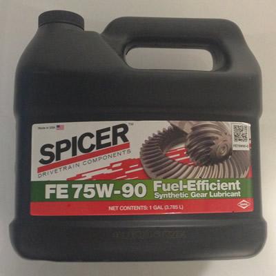 Spicer 75W-90 gear oil - Transtar Industries